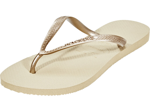 havaianas Slim Sandalen Dames beige